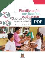 Planificación, Mediación y Evaluación de Los Aprendizajes en La Educación Secundaria (3)