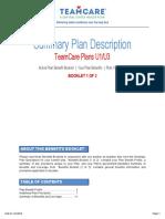 Summary Plan Description Book 1 of 2 Plan U3