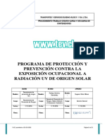 Revision 2 Procedimiento de Bloqueador Solar