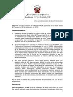 JNE Publica Resolución de Convocatoria a Elecciones Congresales