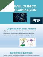Nivel Químico de Organización