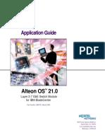 Alteon OS Guide