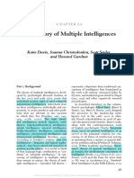 The Theory of Multiple Intelligences