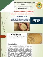 Exposicion de Kiwicha