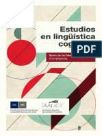 Estudios en Lingüística Cognitiva
