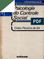 Psicologia Do Controle Social - Celso Pereira de Sá