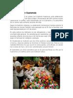 15 Tradiciones de Guatemala