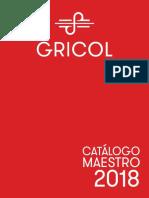 Catalogo Gricol 2018