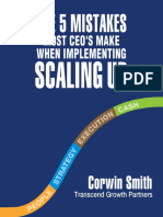 5 Mistakes CEOs Make