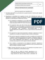 GU╓A R╡PIDA DE REPARACIαN DE OQUEDADES (Rev. 0)