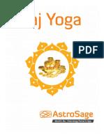 Raj Yoga Report example