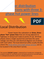 3-phase distribution flow