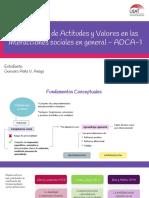 ADCA-1 Presentación
