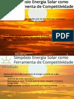 Apresentacao Simposio Energia Solar