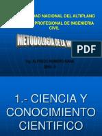 1.- Ciencia y Conocimiento Cientifico