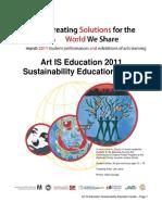 ArtISEd 2011 Sustainability Ed Guide