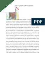 Modelo de Evaluación de Michael Scriven