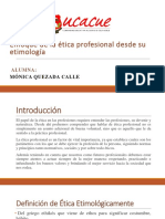 Etica Profesional Desde Su Etimologia