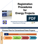 DOE Power Project Registration Procedures