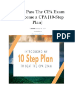 How to Pass the CPA Exam and Become a CPA