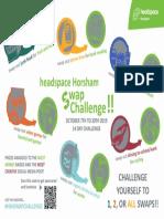 Horsham headspace Swap Challenge