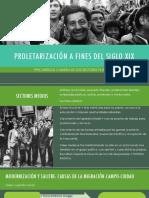 Cuestion Social y Movimiento Obrero