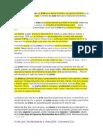 Características de La Jirafa