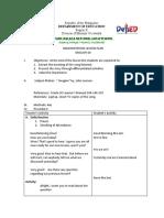 Demo Lesson Plan English 10