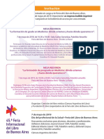 Feria Del Libro-Invitacion 7 de Mayo