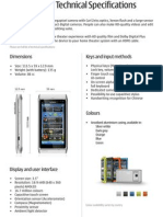 Nokia N8 Technical Specifications
