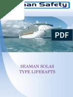 Seaman Solas-Liferaft Brochure