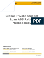 KBRA ABS_ Global Private Student Loan ABS Rating Methodology