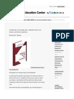 Direct Examination Plan- Plaintiff in an Auto Accident Case