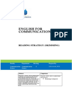 English for communications