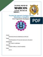 Propiedades Opticas en Nicole Cruzados-SIADEN PAREJA