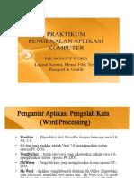 6. Praktikum Pengenalan Aplikasi Komputer-1