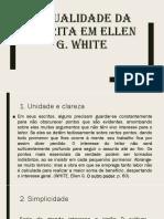 Ellen White e a Importância Da Escrita