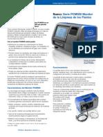 Serie PCM500 Monitor de la Limpieza de los Fluidos