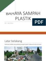bahaya sampah plasik