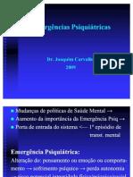 EMERGENCIAS PSIQUIATRICAS 2010