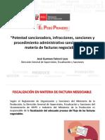 PPT Taller Factura Negociable Fiscalización y Sanciones
