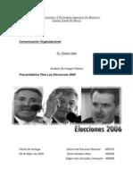 Análisis De Imagen Pública Candidatos Para Las Elecciones en 2006 - Octavio Islas