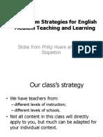 Class Strategies