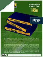 MyFAX Brochure