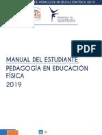Manual Del Estudiante Pef 2019