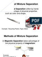 Mixture Separation