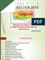Plan Rector s.p. Fresa