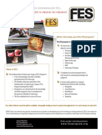 Introducing Fundamentals of Endoscopic Surgery (FES) from SAGES