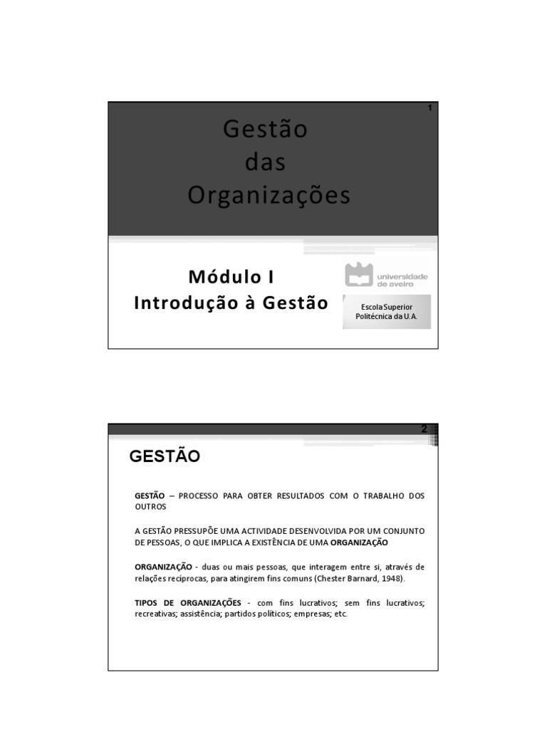 5e27f0d0d7 Módulo 1 - Introdução à Gestão