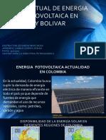 Fotovoltaica en Colombia